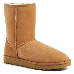 UGG Classic Shearling Lined Short Brown Boot